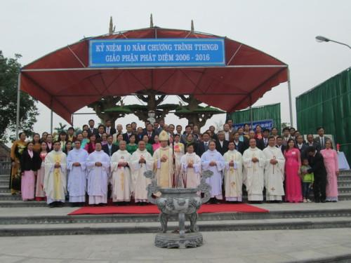 Tường thuật Lễ kỷ niệm 10 thành lập Chương trình TTHNVGĐ tại Phát Diệm