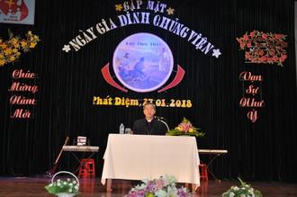 Video Huấn từ của Đức Cha giáo phận trong Ngày Gia Đình Chủng Viện, năm 2018