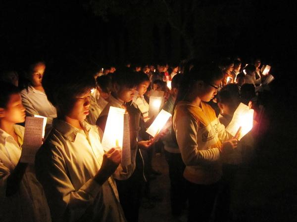 Giáo xứ Bạch Liên: Chương trình cầu nguyện Taizé tháng 11