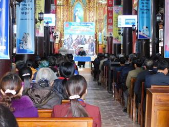 Caritas Phát Diệm: Tĩnh tâm mùa chay cho các thành viên trong Ban Bác ái