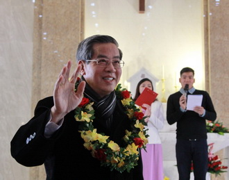Ngày gặp mặt Đồng hương Phát Diệm : Đón tiếp và khai mạc