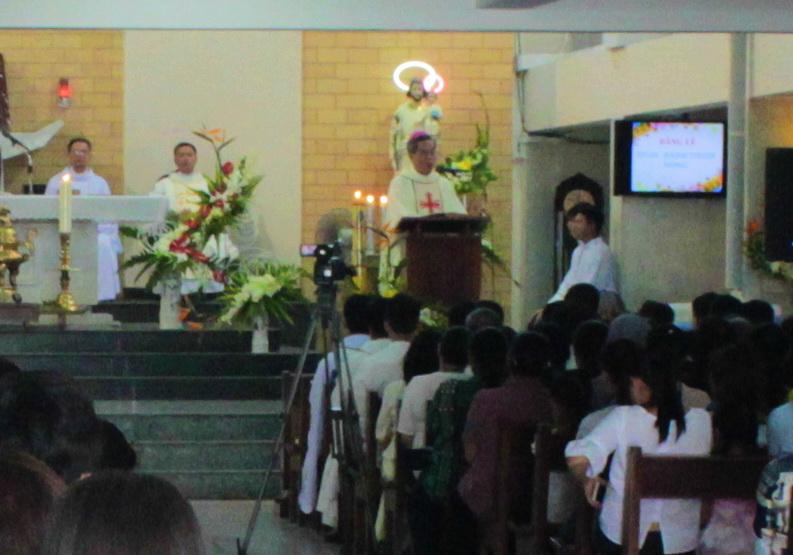 Lao Động Là Lệnh Truyền Và Là Thánh Ý Của Chúa - Bài giảng của Đức Cha