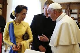 Hình ảnh Đức Thánh Cha thăm Miến Điện