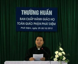Thường huấn Ban Chấp Hành các giáo họ trong giáo phận Phát Diệm