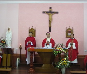 Tiểu chủng viện Phát Diệm mừng lễ quan thày đệ nhị