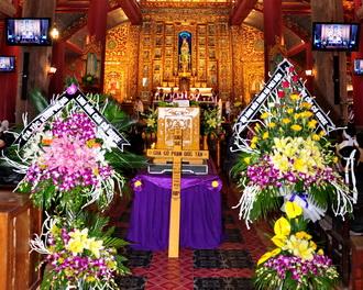 Thánh lễ an táng cha cố Giuse Phạm Đức Tấn