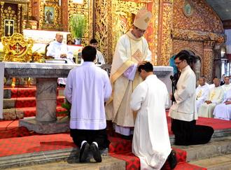 Giáo hội có thêm 11 Phó tế tại giáo phận Phát Diệm