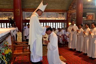 Giáo phận Phát Diệm có thêm 9 thày Phó tế