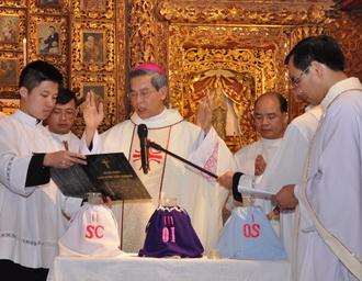 Thánh lễ Truyền Phép Dầu, năm 2018