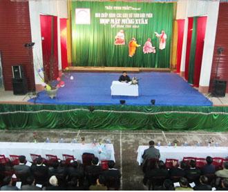 Ban Chấp Hành các giáo xứ của giáo phận Phát Diệm họp mặt mừng xuân