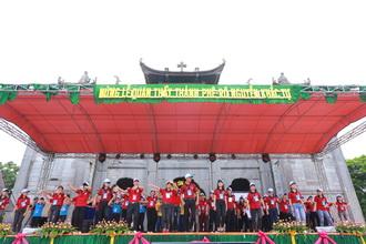 Ngày gặp mặt Giới trẻ giáo phận Phát Diệm lần thứ II - Đón tiếp và khai mạc