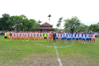 Ngày gặp mặt Giới trẻ giáo phận Phát Diệm lần thứ II - Chung kết đá bống