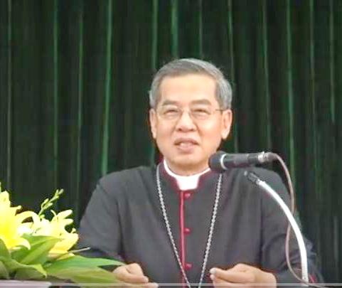 Video: Huấn từ của Đúc Cha giáo phận với các BCH giáo xứ, ngày 29-6-2017