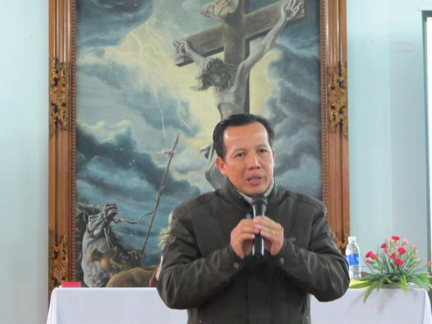 Thuyết trình viên - anh Giuse Mai Thanh Hoài