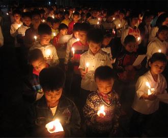 Giáo xứ Bạch Liên, Quảng Nạp và Hải Nạp cầu nguyện Taizé