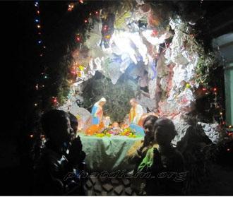 Bạch Liên - Quảng Nạp - Hải Nạp mừng lễ Chúa Giáng Sinh