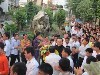 Giáo xứ La Vân: Thánh lễ đón Cha quản nhiệm mới