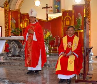 Giáo xứ Hoài Lai đón cha xứ