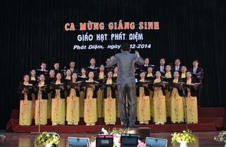 Giáo hạt Phát Diệm: Giao lưu, thi hát Thánh Ca mừng Chúa Giáng Sinh