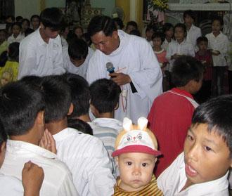 Tết Trung Thu tại giáo xứ Nam Biên