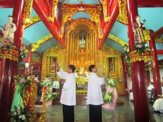 Lễ cung hiến Đền Thánh Phúc Nhạc 09-12-2011