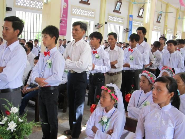 Hồng ân trên giáo xứ Yên Vân