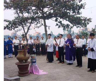 Thánh lễ cầu hồn tại đất thánh Cồn Thoi