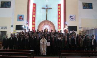 Thánh lễ ra mắt ca đoàn Gia trưởng giáo xứ Tân Mỹ