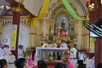 Giáo xứ Văn Hải: Thánh lễ tạ ơn kỷ niệm hôn phối, và khánh thành Trung tâm mục vụ