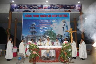 Giáo xứ Đồng Đinh: Khai mạc tuần Tam nhật mừng lễ Đức Mẹ Sầu Bi