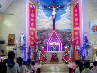 Giáo xứ Xích Thổ: Thánh lễ ra mắt Xứ Đoàn Têrêsa Hài Đồng Giêsu