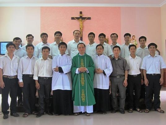 Khóa I Tiểu Chủng Viện Thánh Phaolô Phát Diệm mừng lễ Bổn Mạng