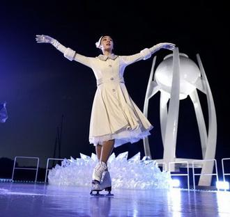 Nhà vô địch huy chương vàng Olympic, cô Yuna Kim, một người Công Giáo
