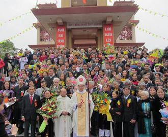 Lễ Thánh Gia 2012 tại Ninh Bình